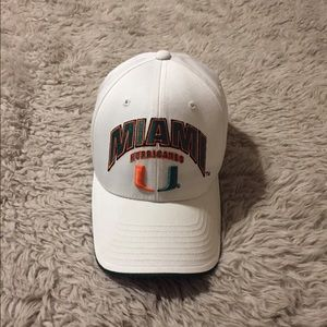 Sold-University of Miami Hurricanes Cap